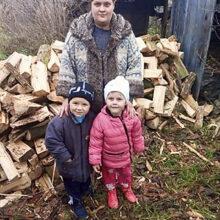 Mamma Alina och hennes två barn har nu ett varm hus