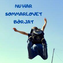 Nu har sommarlovet börjat i Ukraina